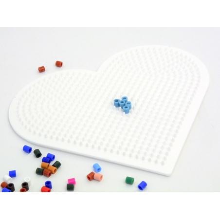 Plaque support pour perles HAMA MIDI classiques - grand coeur Hama - 2