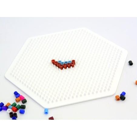 Plaque support pour perles HAMA MIDI classiques - grand hexagone Hama - 2