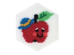 Plaque support pour perles HAMA MIDI classiques - grand hexagone Hama - 3