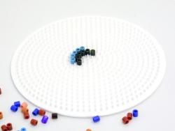 Stiftplatte für klassische HAMA-Midi-Perlen - großer Kreis