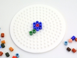 Plaque support pour perles HAMA MIDI classiques - petit rond