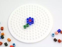 Stiftplatte für klassische HAMA-Midi-Perlen - kleiner Kreis