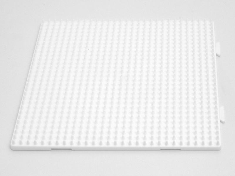 Plaque support assemblable pour perles HAMA MIDI classiques - grand carré Hama - 1