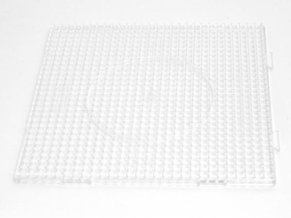 Plaque support translucide pour perles HAMA MIDI classiques - grand carré Hama - 1