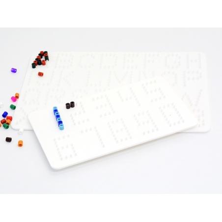 Plaques support pour perles HAMA MIDI classiques - Chiffres et lettres Hama - 2
