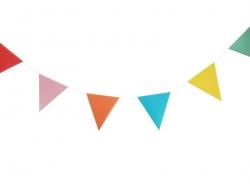Guirlande Fanions multicolores