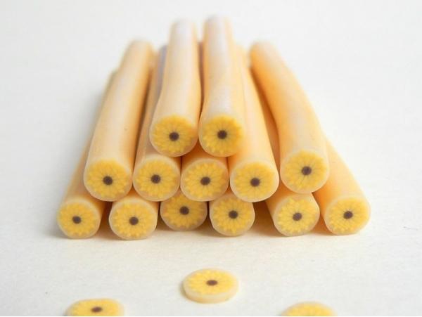 Acheter Cane tournesol soleil - en pâte polymère - 0,99€ en ligne sur La Petite Epicerie - Loisirs créatifs