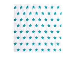 20 serviettes en papier My Little Day - Etoiles bleues