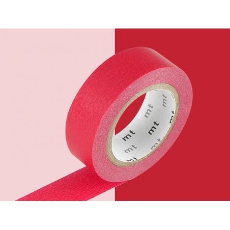 Acheter Masking tape uni - rouge - 2,90€ en ligne sur La Petite Epicerie - Loisirs créatifs