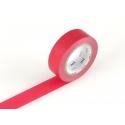 Masking tape uni - rouge