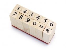 Zahlenstempel - 12 Zeichen
