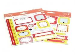 Sticker zur Schaffung von Ordnung - Mademoiselle Toga