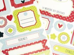 Sticker, um Ordnung zu schaffen - Mademoiselle Toga