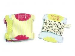 Acheter Cartonnettes ruban - Mademoiselle Toga - 3,60€ en ligne sur La Petite Epicerie - 100% Loisirs créatifs