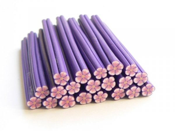 Acheter Cane fleur rose et mauve - 0,49€ en ligne sur La Petite Epicerie - Loisirs créatifs