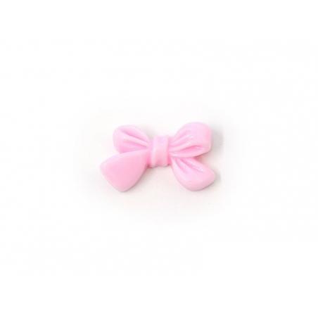Bow cabochon - pink