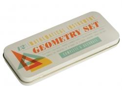 Geometrieset - 12 Matheutensilien