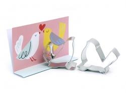 Emporte-pièces - Love birds