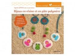 """French book """" Bijoux en résine et en pâte polymère"""""""