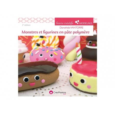 Acheter Livre Monstres et figurines en pâte polymère - 19,50€ en ligne sur La Petite Epicerie - Loisirs créatifs