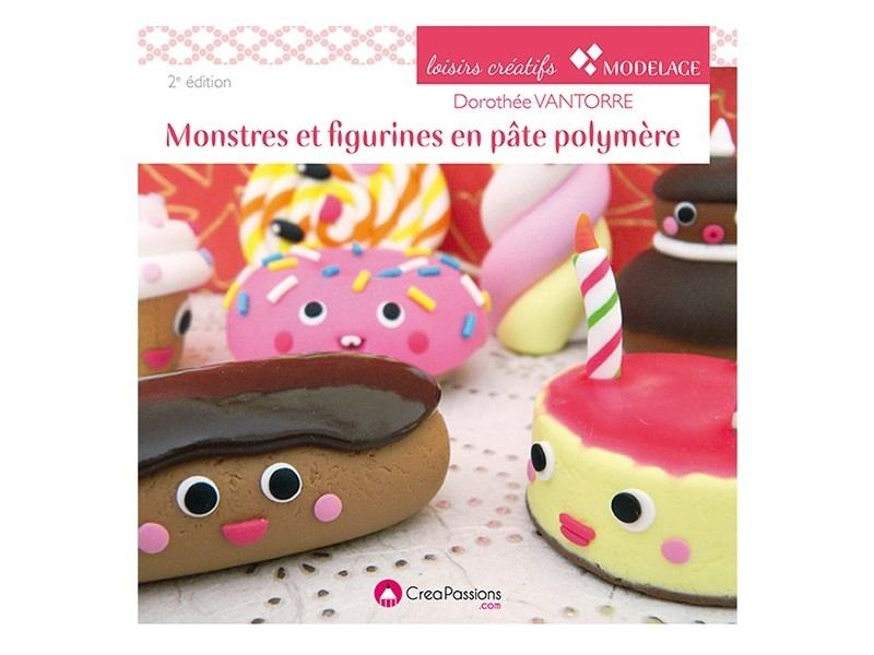 """French book """" Monstres et figurines en pâte polymère"""""""