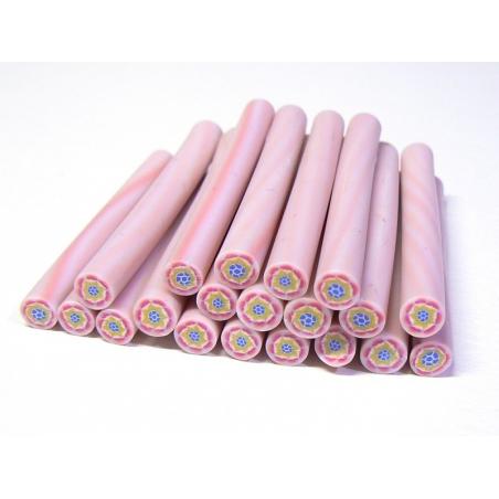 Flower cane - pink