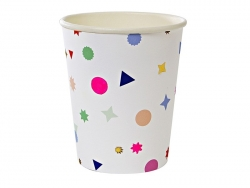 Acheter 8 gobelets en papier - Confettis - 4,50€ en ligne sur La Petite Epicerie - Loisirs créatifs
