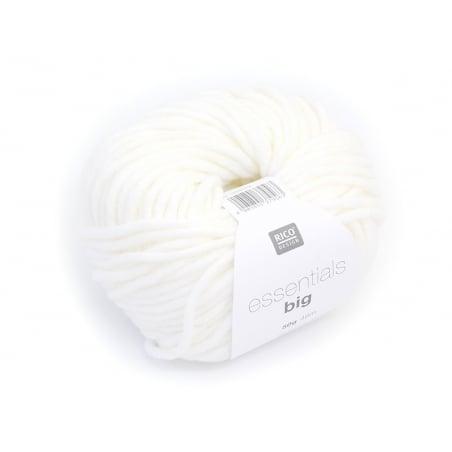 "Laine à tricoter ""Essentials big"" - écru"
