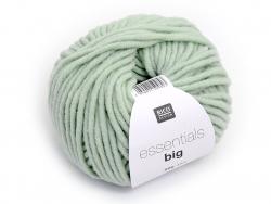 """Strickwolle - """"Essentials - big"""" - meegrün"""