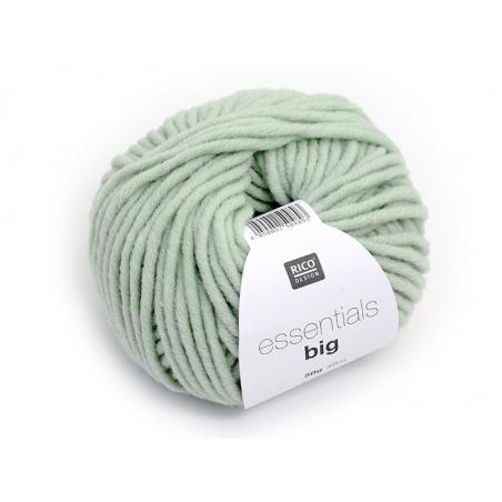 """Laine à tricoter """"Essentials big"""" - vert d'eau"""