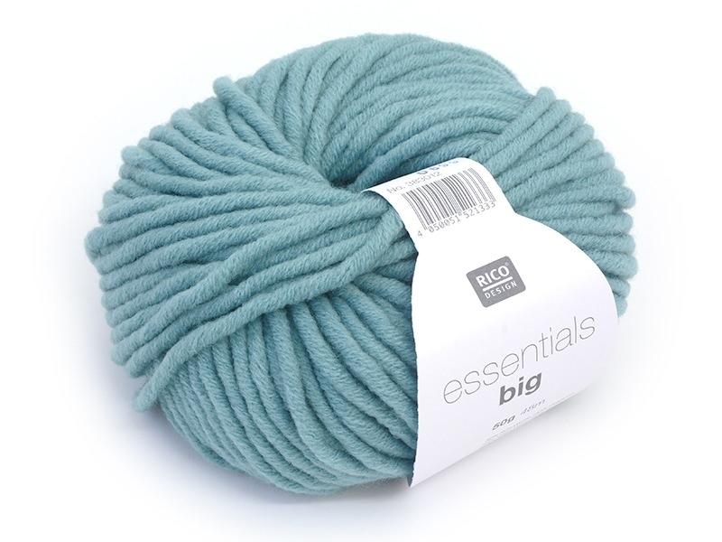 """Acheter Laine à tricoter """"Essentials big"""" - turquoise - 5,40€ en ligne sur La Petite Epicerie - 100% Loisirs créatifs"""