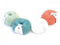 "Knitting wool - ""Essentials big"" - turquoise"
