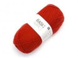 "Knitting wool - ""Basic Acrylic"" - red"