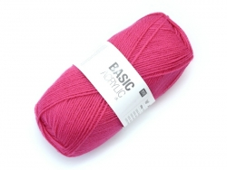 "Knitting wool - ""Basic Acrylic"" - fuchsia"