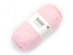 "Knitting wool - ""Basic Acrylic"" - pink"