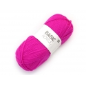"Laine à tricoter ""Basic Acrylic"" - rose fluo"