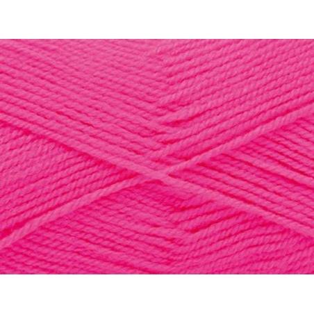 """Acheter Laine à tricoter """"Basic Acrylic"""" - rose fluo - 3,30€ en ligne sur La Petite Epicerie - 100% Loisirs créatifs"""