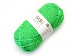 "Knitting wool - ""Basic Acrylic"" - neon green"