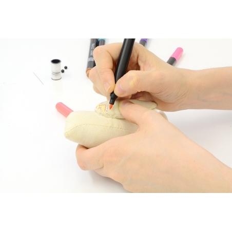 Acheter Doudou en tissu à customiser - Oiseau 13 cm - 6,60€ en ligne sur La Petite Epicerie - 100% Loisirs créatifs