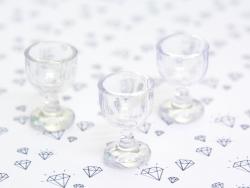 Mini stemmed glass