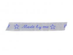 "Stoffetikett zum Aufnähen - ""Made by me"" - La petite épicerie"