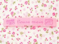 """Fabric label - """"Cousu main"""" - La petite épicerie"""