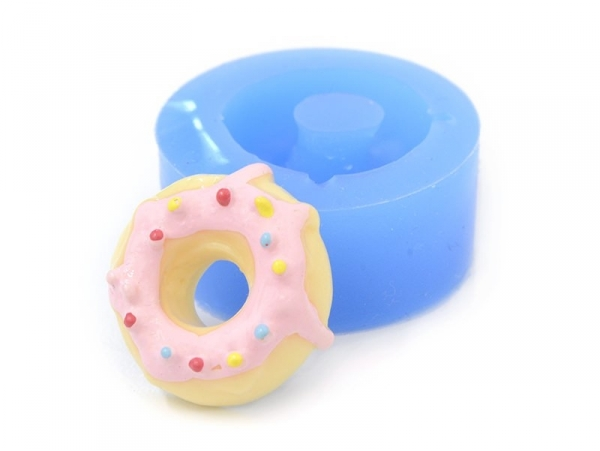 Moule en silicone - donut gourmand
