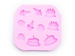 Cakes and ice-cream mould - 10 designs