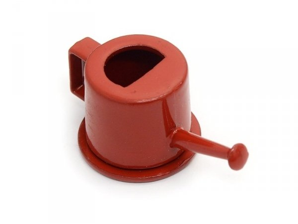 Arrosoir rouge miniature