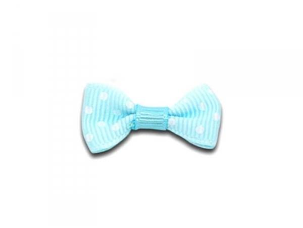 Acheter Noeud bleu clair à pois - 3 cm - 0,39€ en ligne sur La Petite Epicerie - 100% Loisirs créatifs