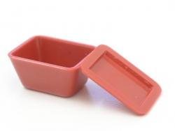 Acheter 1 lunch box / boite hermétique en plastique rouge miniature - 2,49€ en ligne sur La Petite Epicerie - 100% Loisirs c...
