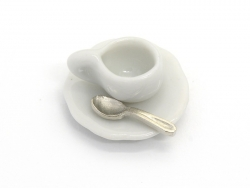 Lot de 8 cuillères miniatures - 1,2 cm