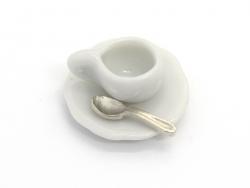 Set mit 8 Miniaturlöffeln - 1,2 cm