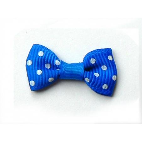 Acheter Noeud bleu foncé à pois - 3 cm - 0,39€ en ligne sur La Petite Epicerie - 100% Loisirs créatifs